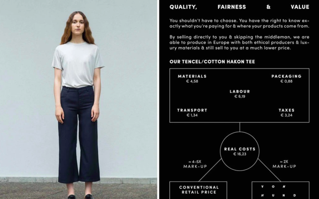 HundHund prices  fast fashion