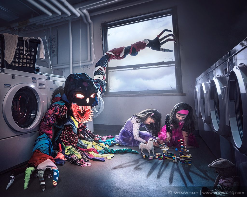 Toxic Laundry by Benjamin Von Wong
